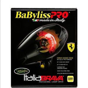 Accessories - BaBylissPro Italia Brava 2000W Hair Dryer, Black